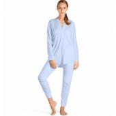 Hanro Pure Pyjama Blue Glow