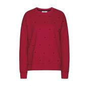 Cyell Sleepwear American Fleece Sweater Scarlet