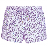 Annadiva Swim Leo Short Lilac