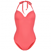 Annadiva Swim Solid Badpak Coral