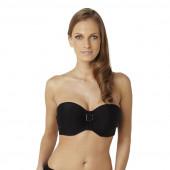 Panache Anya Bandeau Bikinitop Black