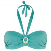 Cyell Beach Essentials Bandeau Bikinitop Vintage Blue