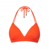 Beachlife Cherry Tomato Padded Triangle Bikinitop