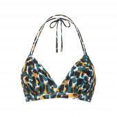 Beachlife Mystic Animal Padded Triangle Bikinitop