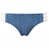 Seafolly Block Party Multi-Strap Hipster Denim