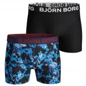 Björn Borg Branch 2-pack Boxershorts Bonnie Blue