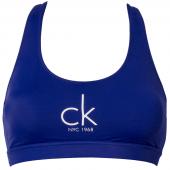 Calvin Klein Bralette Met Logo Blauw