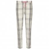 Cyell Sleepwear Check Pyjamabroek Ivory