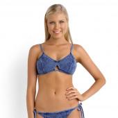 Seafolly Deja Blue bikinitop deniim