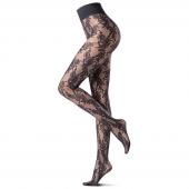 Oroblu Eden Rose Panty 20 Denier Black