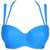 PrimaDonna Swim Freedom Strapless Bikinitop Blue Jump