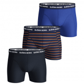 Björn Borg French Stripe 3-Pack Boxershorts Peacoat