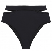 Miss Mandalay Icon Hoog Bikinibroekje Black