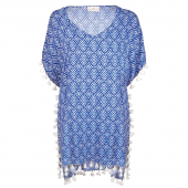 Watercult Indigo Escape Kaftan White Indigo