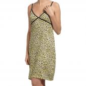 Cyell Sleepwear Leopard Nachtjurkje Yellow
