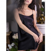 Marjolaine Nachtjurk Noir