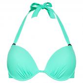 Beachlife Mint voorgevormde Halter Bikinitop