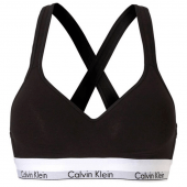 Calvin Klein Modern Cotton Voorgevormde Bralette Black