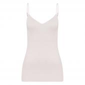 Hanro Cotton Seamless Top met Spaghettibandjes Gentle Pink