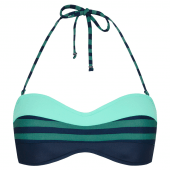 Beachlife Nightriver Bandeau Bikinitop Donkerblauw