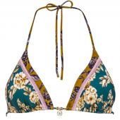 Watercult Ottomane Flower Triangle Bikinitop Vintage Spring