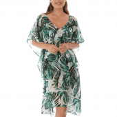 Fantasie Swim Palm Valley Kaftan Fern