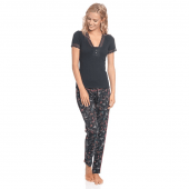 Vive Maria Papillon Pyjamaset Black Allover