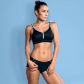 Anita Active Performance Sport BH Black / Pool Blue
