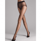 Wolford Pure Panty 10 Denier Nearly Black