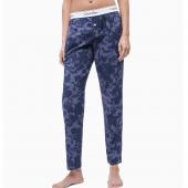 Calvin Klein Pyjamabroek Floral Burnout Shoreline