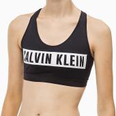 Calvin Klein Racerback Sport BH Black