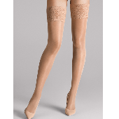 Wolford Satin Touch Stay-up Kousen 20 Denier Gobi