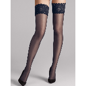 Wolford Satin Touch Stay-up Kousen 20 Denier Admiral