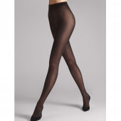 Wolford Satin Opaque Panty 50 Denier Nearly Black