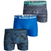 Bjorn Borg Shade & Etno Stripe 3-Pack Boxershorts