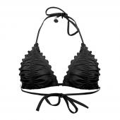 Seafolly Shimmer Triangle Bikinitop Black