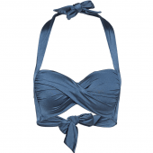 Seafolly Shine On Halter Bikinitop Blueprint