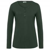 Hanro Sleep & Lounge Pyjamashirt Green Marble