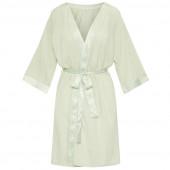 Cyell Sleepwear Satin Solids Badjas Laurel