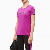 Calvin Klein Sport T-shirt Purple Cactus Flower
