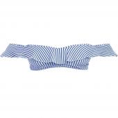 Freya Swim Totally Stripe Bardot Bikinitop Cobalt