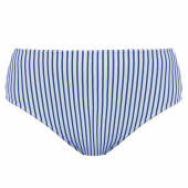 Freya Swim Totally Stripe Hoog Bikinibroekje Cobalt