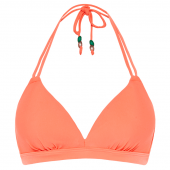 Beachlife Fresh Salmon Padded Triangle Bikinitop
