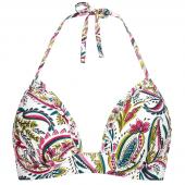 Cyell Wajang Floral Triangle Bikinitop