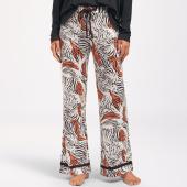 Cyell Sleepwear Zebra Lange Pyjamabroek Zebraprint